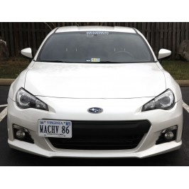 TowTag License Plate Relocation Kit 2013-2016 Subaru BRZ Scion FR-S