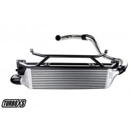 TurboXS 2015+ WRX Front Mount Intercooler Kit Polished