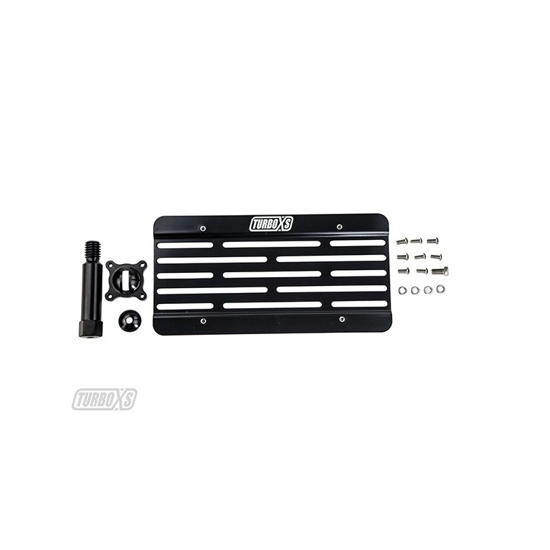 """TurboXS """"TowTag"""" 2015+ BMW F80 License Plate Relocation Kit"""