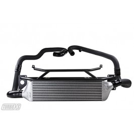 Front Mount Intercooler 2015+ Subaru STi Wrinkle Black