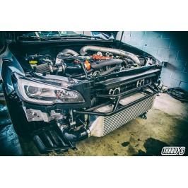 Front Mount Intercooler 2015+ Subaru STi Wrinkle Red