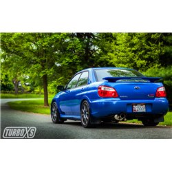 Catless Turboback Exhaust System (TI muffler) / 2002-2007 Subaru WRX/STi